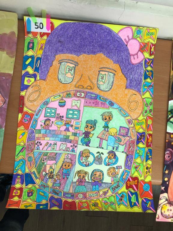 與愛的距離-全國特殊需求者「愛牙護齒保健康」繪畫比賽入選作品展(9)