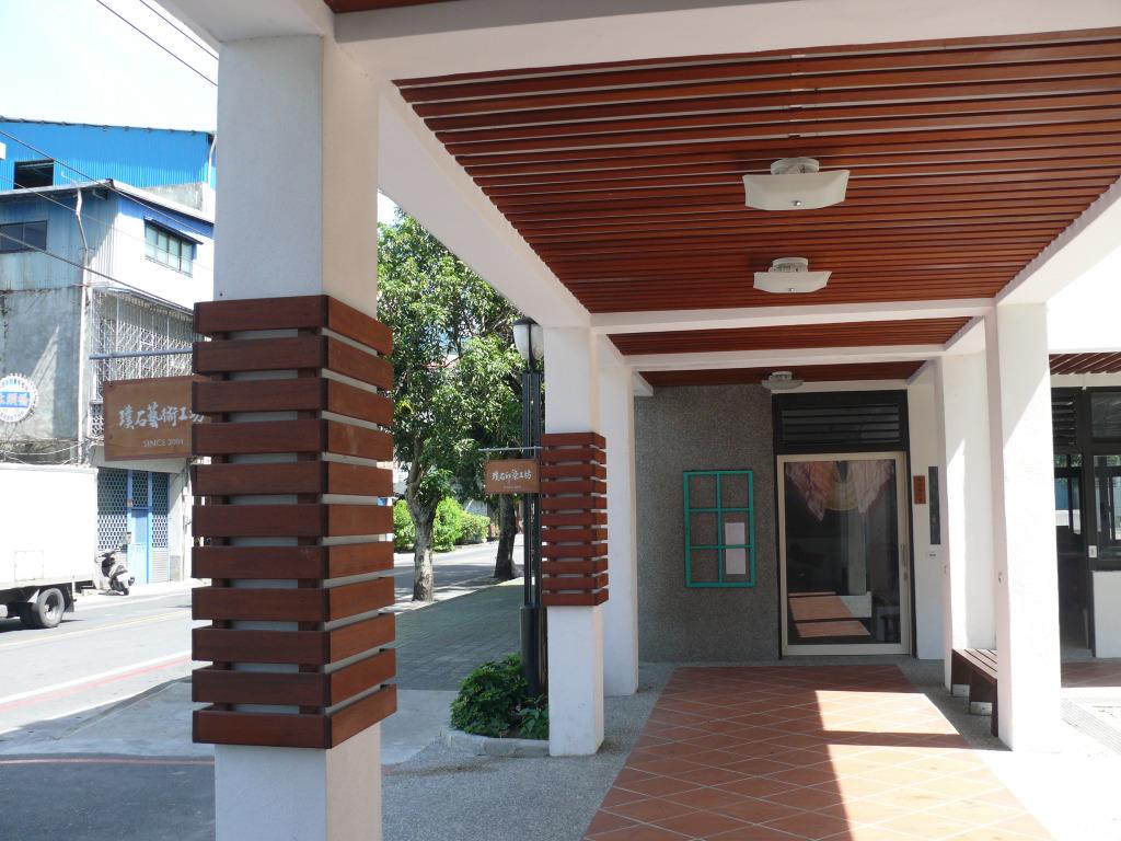 璞石藝術館1樓走廊