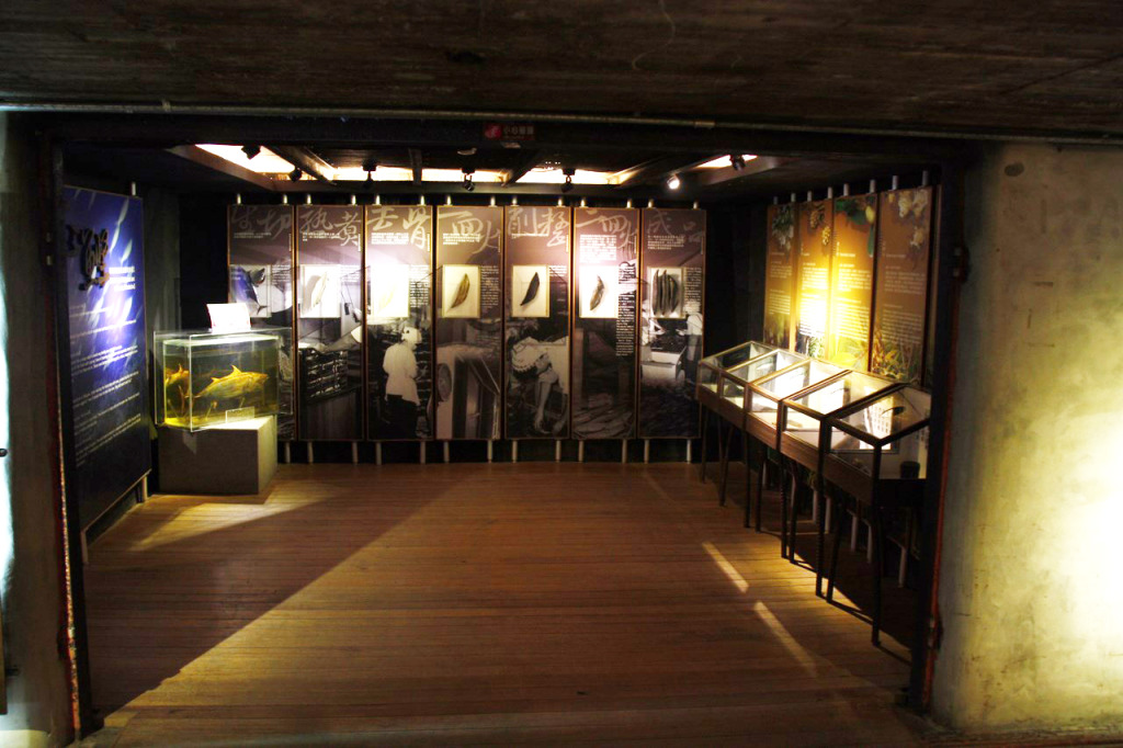 博物館一樓-柴魚製作過程