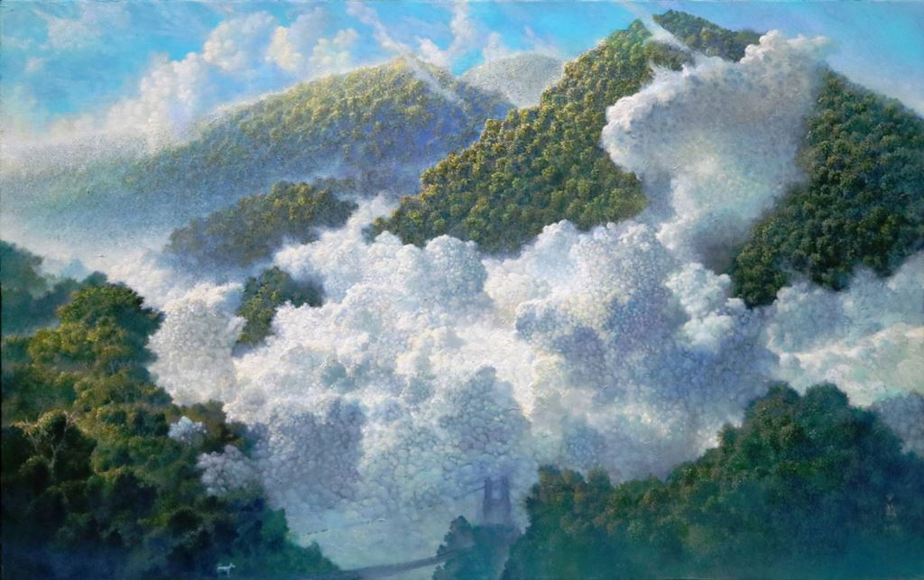 與蒼冥歌‧與天地共歌同遊-林子超藝術創作展(8)