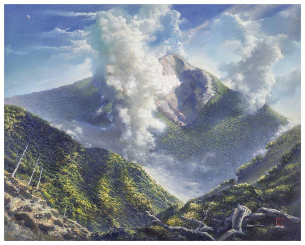 與蒼冥歌‧與天地共歌同遊-林子超藝術創作展(9)