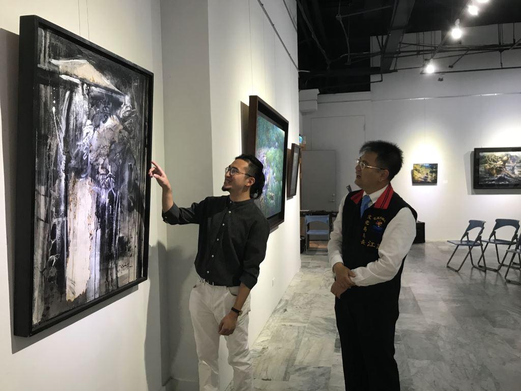 與蒼冥歌‧與天地共歌同遊-林子超藝術創作展(1)