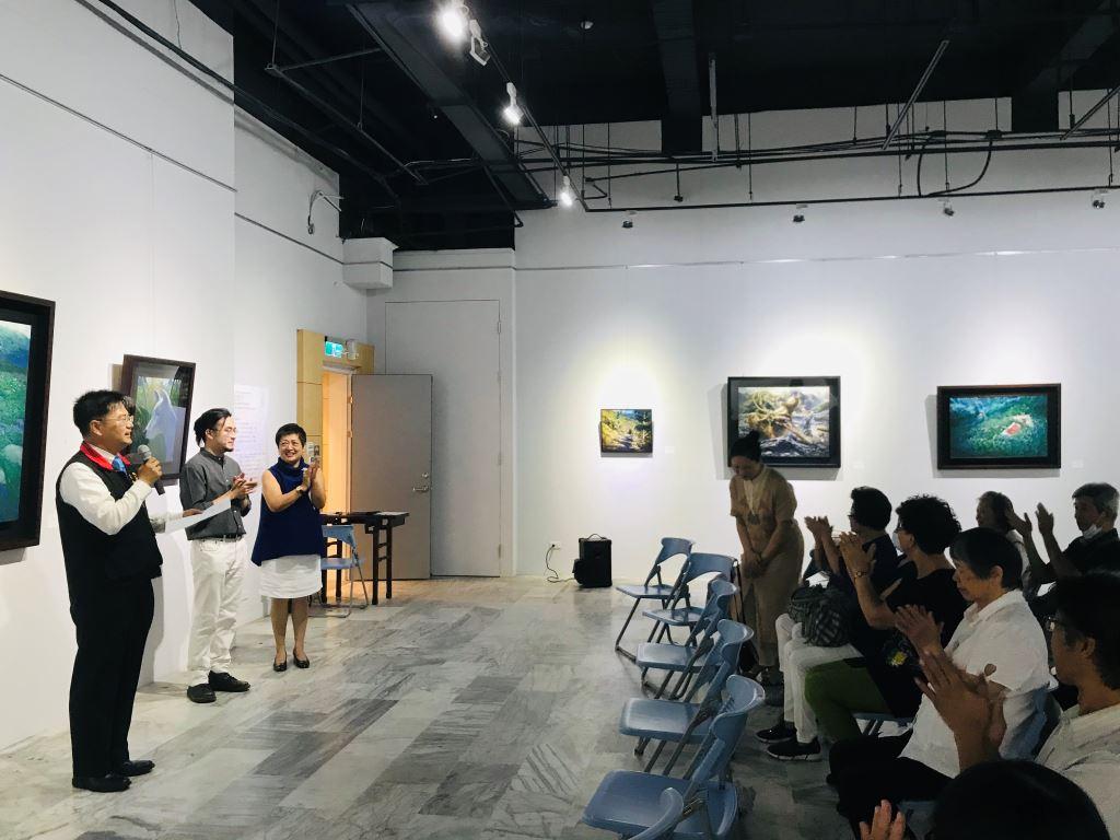 與蒼冥歌‧與天地共歌同遊-林子超藝術創作展(3)
