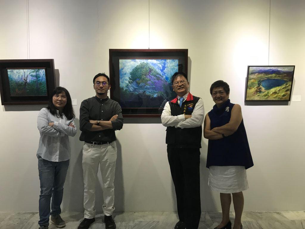 與蒼冥歌‧與天地共歌同遊-林子超藝術創作展(4)