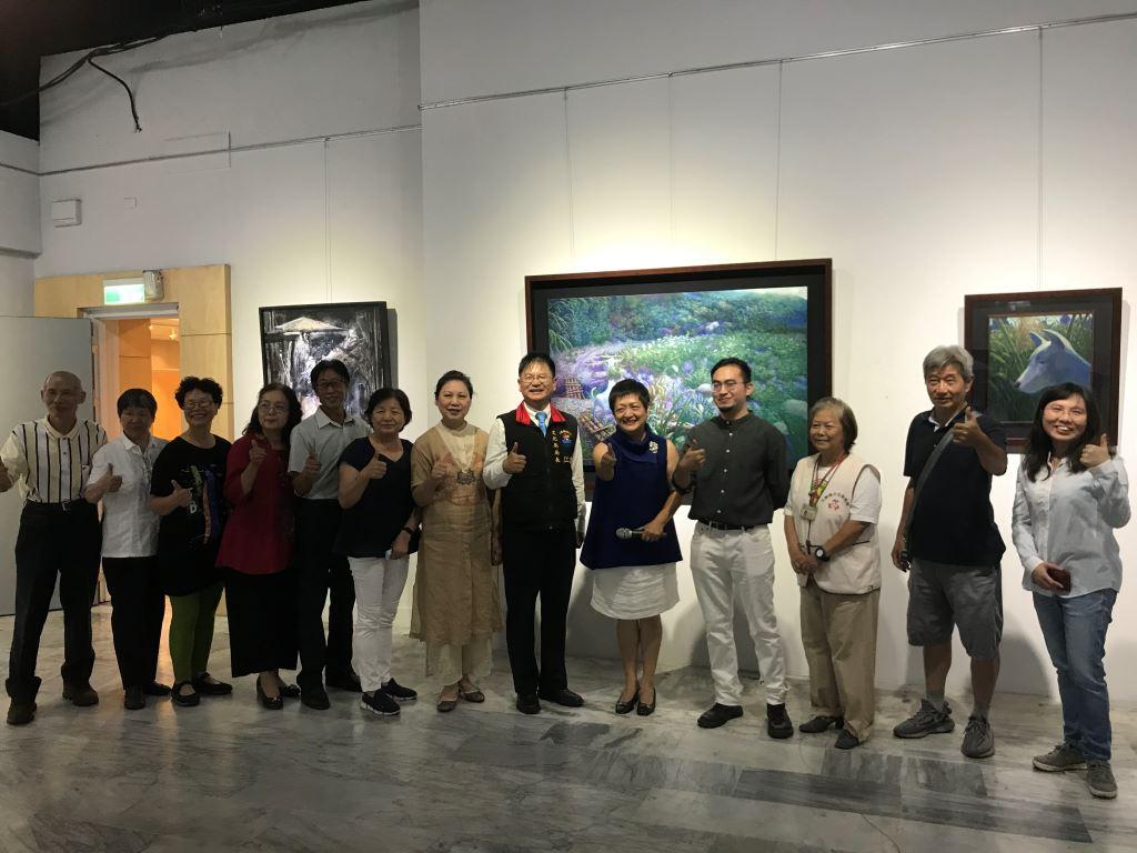 與蒼冥歌‧與天地共歌同遊-林子超藝術創作展(5)