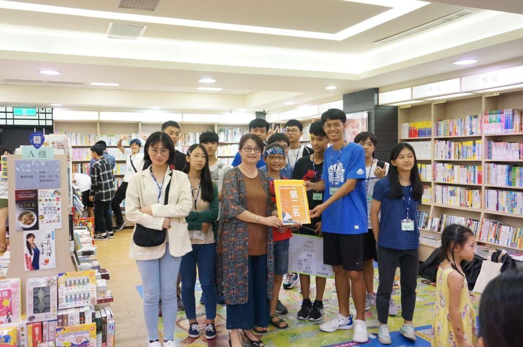 《探索書城小旅行》-9月「越讀者聯盟」青少年讀書會活動(4)