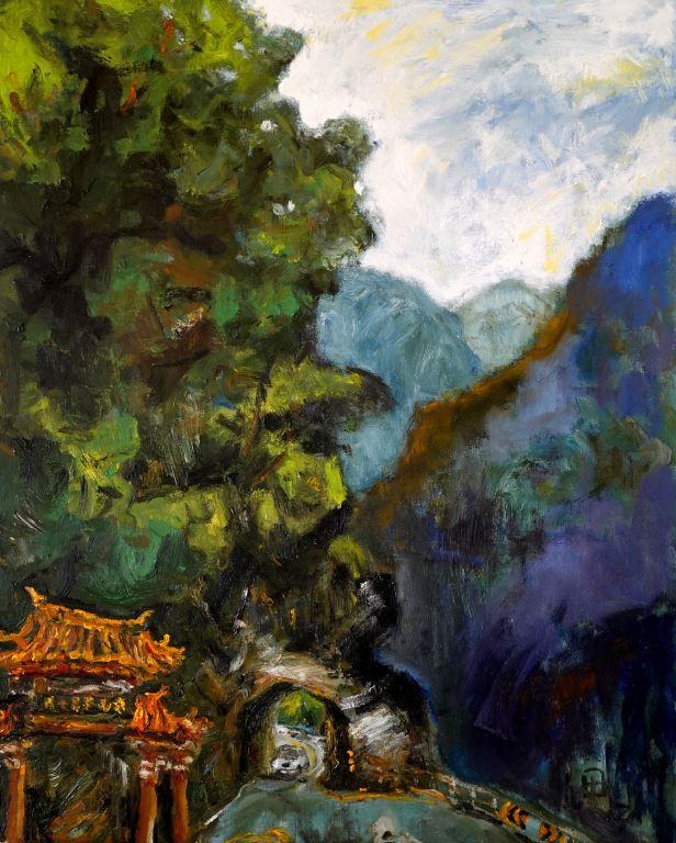 人與最美的風景-九鬼油畫展