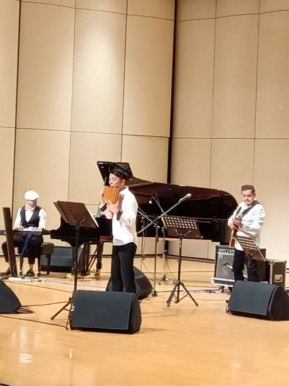 拉丁爵士之夜音樂會-張中立排笛演奏會