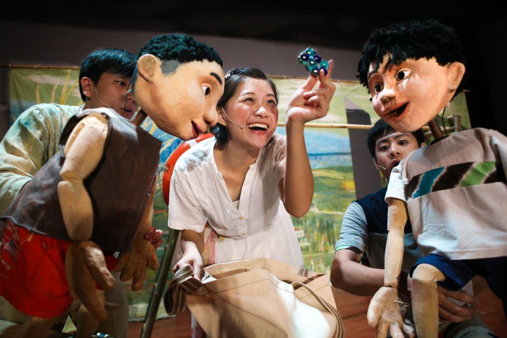 無獨有偶工作室劇團«桑可的暑假»偶劇演出