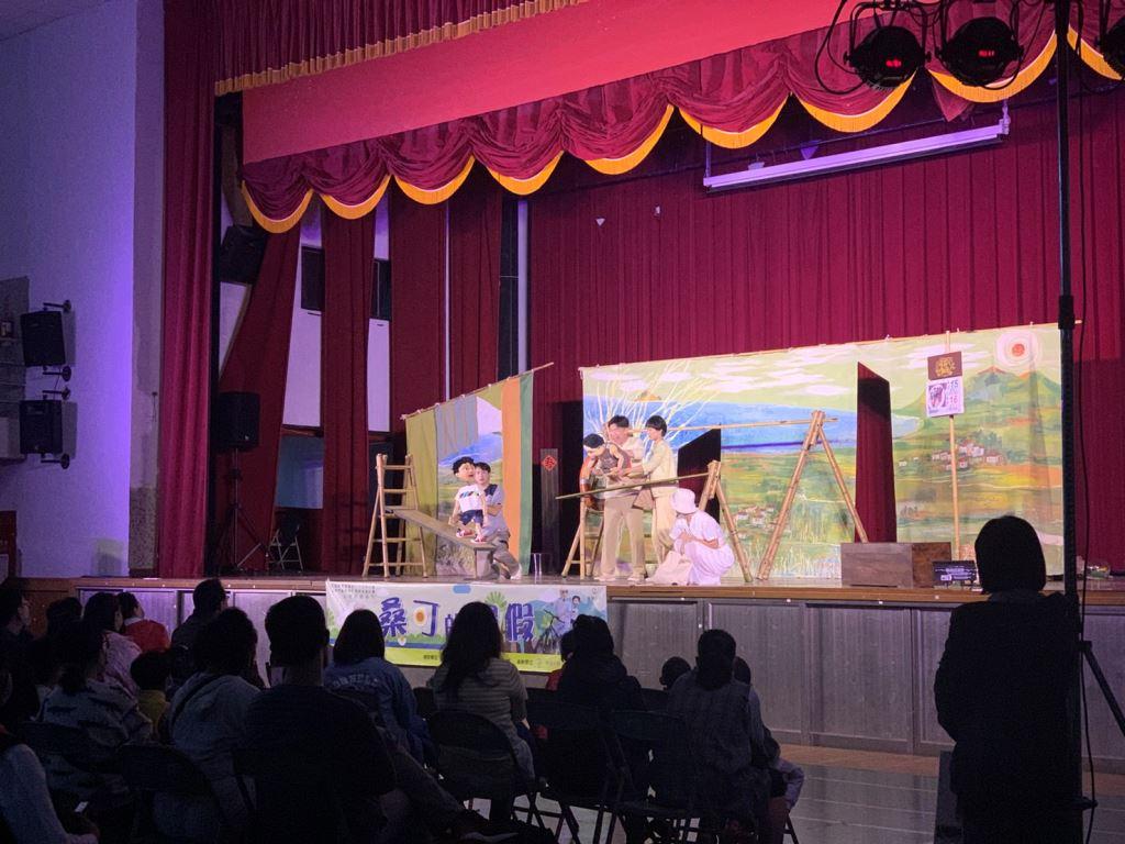 無獨有偶工作室劇團«桑可的暑假»偶劇演出(1)