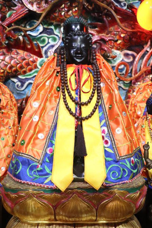 青蓮寺銅鑄開基釋迦佛祖佛像
