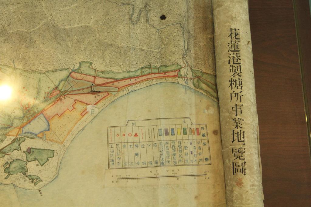 花蓮港製糖所事業地一覽圖