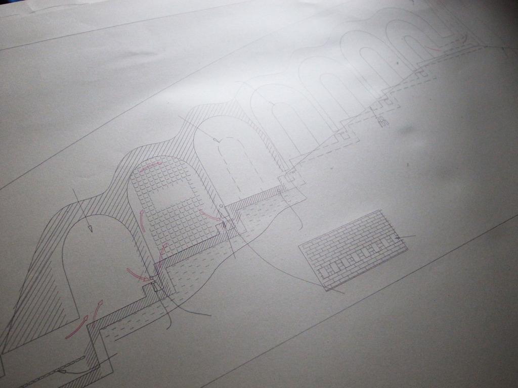 窯廠手繪稿