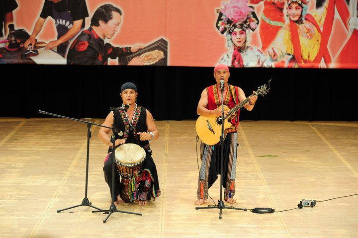 原住民唱歌、樂器表演1