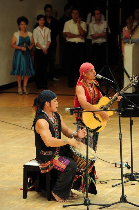 原住民唱歌、樂器表演2