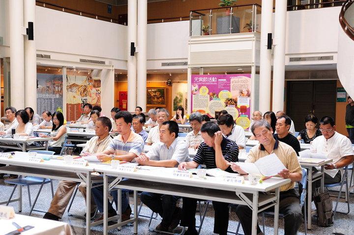 99年度文化藝術座談會與會人士1