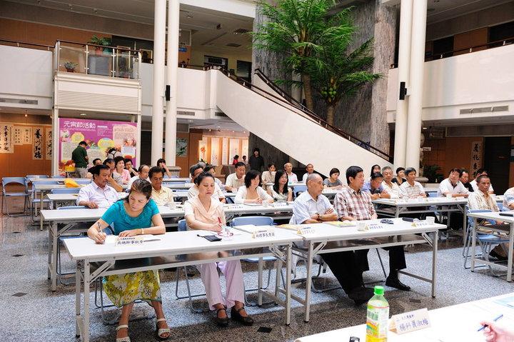 99年度文化藝術座談會與會人士2