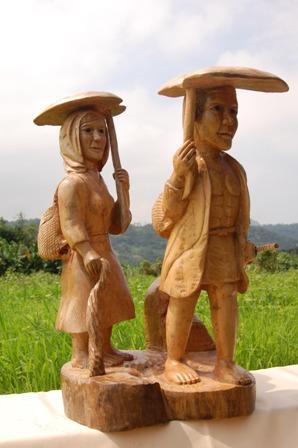 胡銀祿木雕工藝作品展
