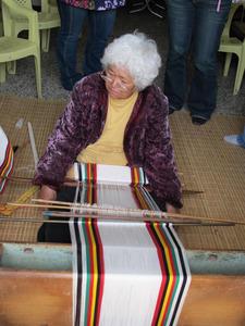 Traditional weaving of Bunun men's garments