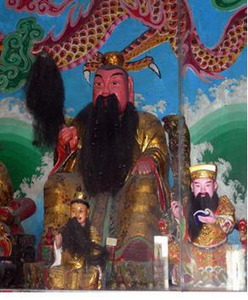 Temple of the True Lord Ruanbi Sacrificial Ceremony, Dachen New Village