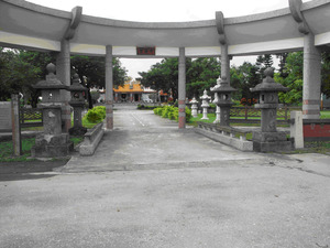 The Santo and Relics of Fengtian Shinto Shrine (Bilian Temple)