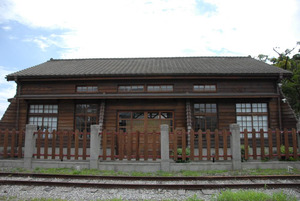 Former Hualien TRA Public Works Section, Buildings of the Old Police Section